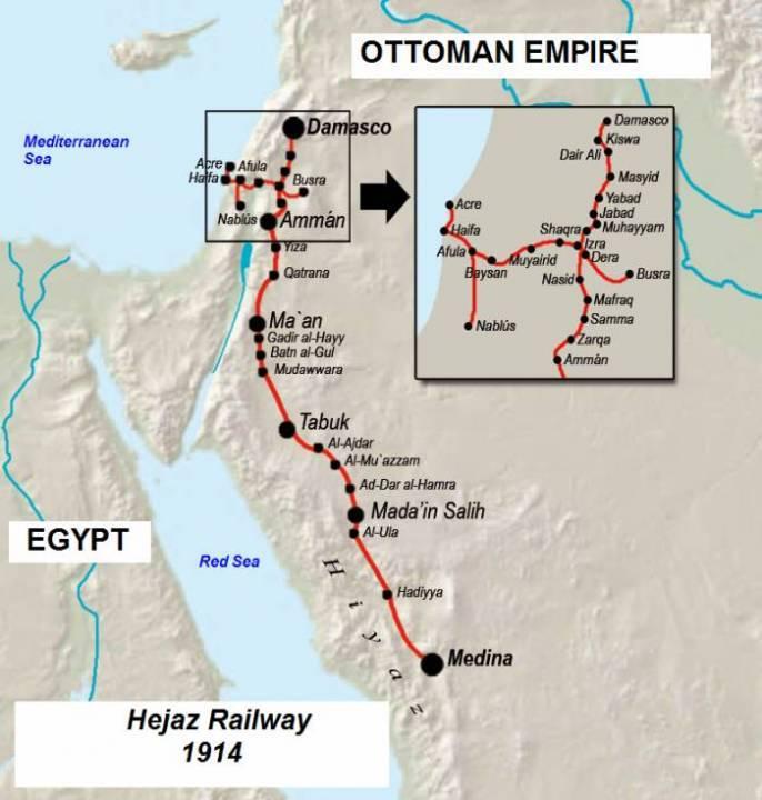 Заброшенная Хиджазская железная дорога