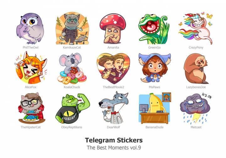 Стикеры Телеграм