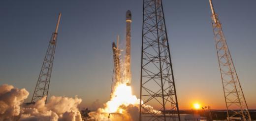 Ракета Фалкон-9 Илон Маск
