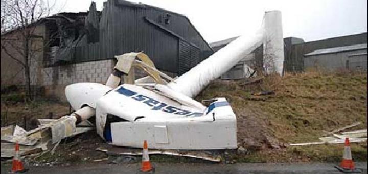 Сломанные крылья ветроэнергетики