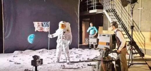 Киносъемка с Луны
